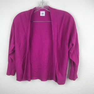 Cabi Sweater SZ S Solid Pink NWOT